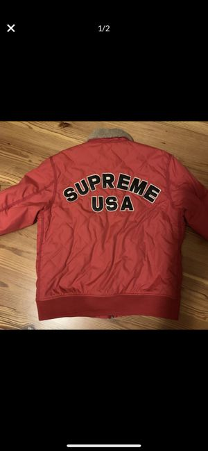 Supreme Quilted Nylon Tanker for Sale in Raleigh, NC