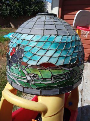 Fox hunt: Tiffany style lamp shade for Sale in Montebello, CA