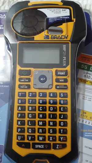 BRADY WORLDWIDE INC Portable Label Printer BMP21-PLUS for Sale in Costa Mesa, CA