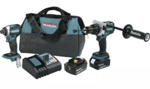 Makita XT268T 18V LXT Lithium-Ion Brushless Hammer Drill & Impact Driver for Sale in St. Petersburg, FL