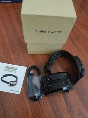 New dog training collar trainer no barking sound vibrate shock for Sale in Long Beach, CA