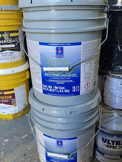 Zurich White . 10 Gallons. Interior Paint . Eggshell Finish for Sale in Marysville,  WA