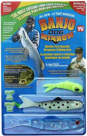 New Banjo Minnow 006. 110 Piece Fishing System for Sale in Pomona, CA