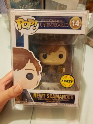 The Crimes of Grindelwald Newt Chase Funko Pop for Sale in Fresno, CA