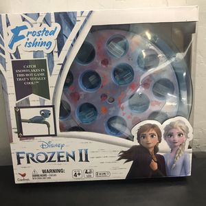 Disney Frozen 2 Frosted Fishing Snowflake Board Game for Kids & Families for Sale in Sacramento, CA
