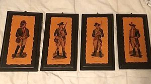 Vintage Revolutionary War Plaques for Sale in Bartonville, IL