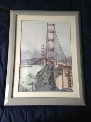 San Francisco Print Framed for Sale in Carlsbad, CA