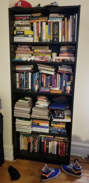 Bookshelves with 5 shelves for Sale in East Orange, NJ