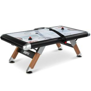 ESPN 84'' Fast-Line Air Powered Hockey Table with 4 pushers and 4 pucks, Black for Sale in Houston, TX