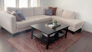 White sectional couch for Sale in Sacramento, CA