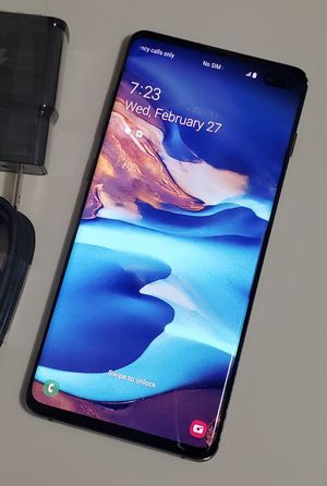 "Samsung Galaxy S10 Plus,, ""Factory Unlocked Condition Excellent"" (Like Almost New) for Sale in Springfield, VA"