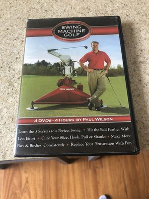 Swing machine gold dvd instructional for Sale in Irvine, CA