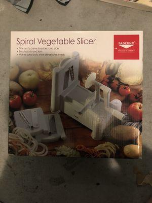Paderno Spiral Vegetable Slicer for Sale in Cape Coral, FL