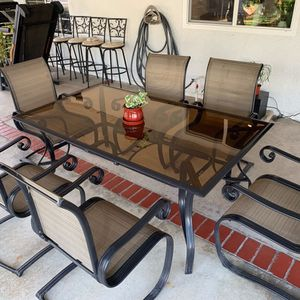 Patio table w/6 chairs for Sale in Chino, CA
