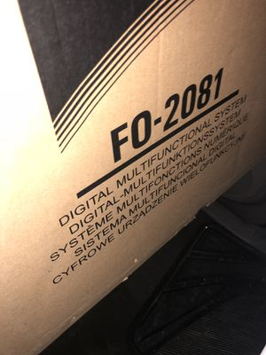 *Brand new* Fax machine FO- 2081 for Sale in Washington, DC