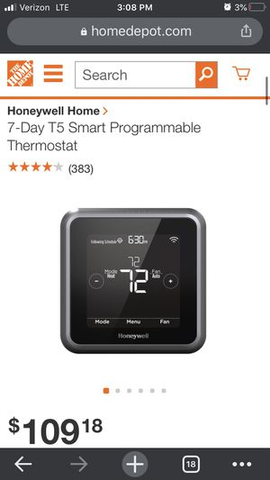 Honeywell Lyric Thermostat for Sale in San Diego, CA
