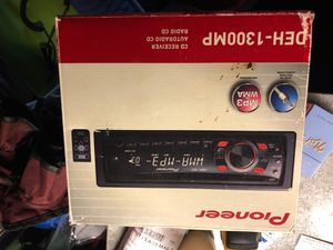 Pioneer DEH-1300mp car audio head unit for Sale in Bloomingdale, IL