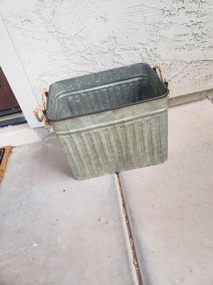 Rustic Metal Bin for Sale in Gilbert, AZ