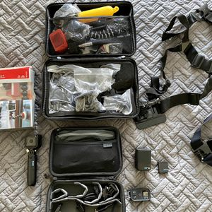 GoPro Hero Session & 50+ Accessories/Cases for Sale in San Jose, CA