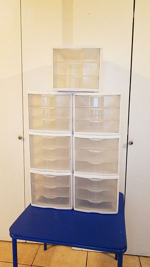 Plastic Storage Organizer Containers for Sale in San Jose, CA