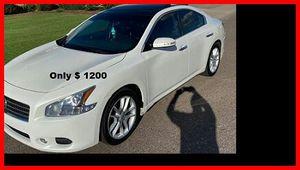 Price$12OO 2OO9 Nissan Maxima for Sale in Bernice, LA