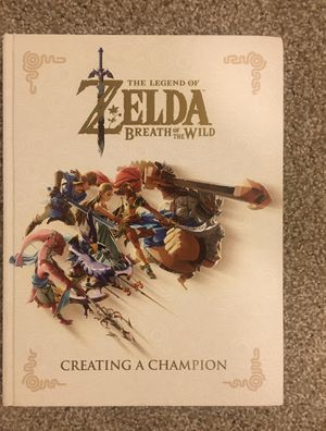 Legend of Zelda breath of the wild creating a champion book for Sale in Kirkland, WA