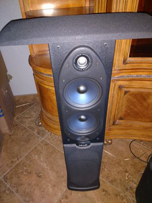 polk audio 5 speaker surround sound for Sale in Phoenix, AZ