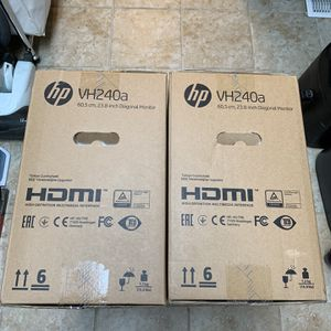 NEW HP VH240A IPS LED MONITORS for Sale in Fontana, CA