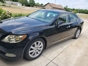 2007 LEXUS LS460 Black with TAN Leather for Sale in Columbus, OH