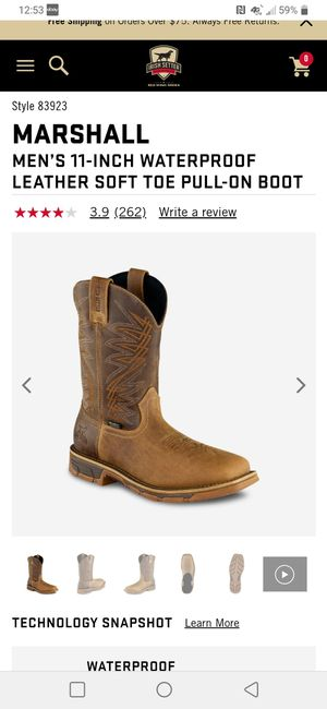 Irish setter work boots size 11 for Sale in Fresno, CA