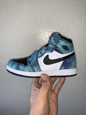 Jordan 1 tie dye 10C for Sale in Los Angeles, CA