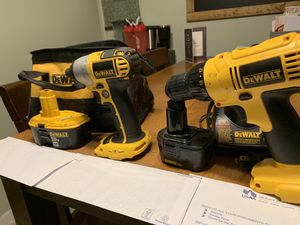 Gently used dewalt power tools. Save hundreds! for Sale in West Berlin, NJ