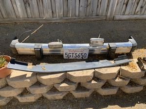 87 Jeep xj front bumper oem for Sale in San Jacinto, CA