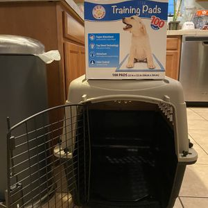 Dog Crate And Puppy Pads for Sale in Portland, OR