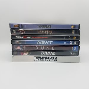 Action Movie DVD Lot of 7, T2 Dune Drive Next for Sale in Chevy Chase, MD