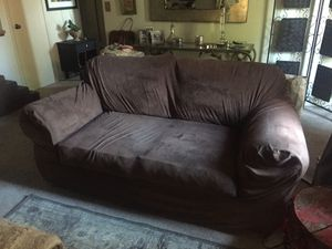 Love seat bug chair And ottoman for Sale in Fresno, CA