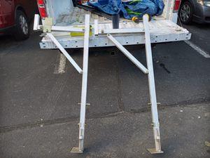 Aluminum racks for ladders for Sale in Annandale, VA