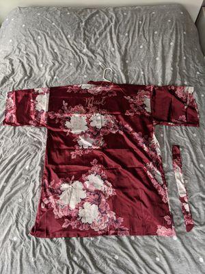 Maid of Honor Floral Kimono Robe w/ Waist Sash Tie for Sale in Alexandria, VA