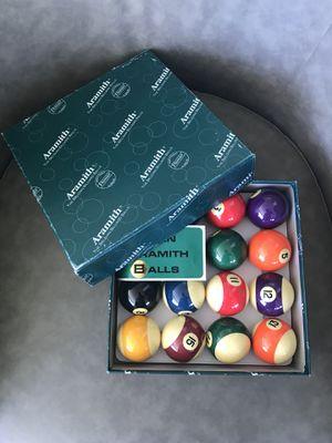 New Set Of Billiard Ball for Sale in Chicago, IL
