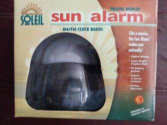 Sun Alarm Clock/Radio for Sale in Des Moines,  WA