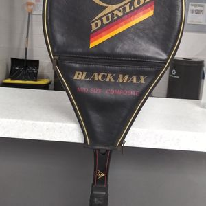 "Dunlop Black Max Mid-Size Graphite Glass Tennis Racket 4 3/8"" for Sale in Gaithersburg, MD"