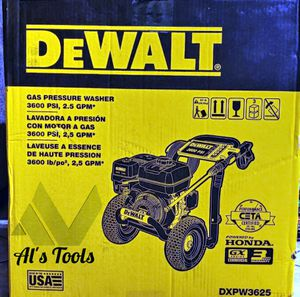 DeWalt 3600 PSI gas pressure washer with a Honda commercial engine for Sale in Paramount, CA