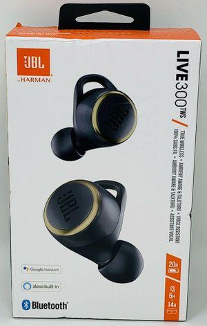 JBL LIVE 300TWS True Wireless In-Ear Headphones - Black for Sale in Palos Hills, IL