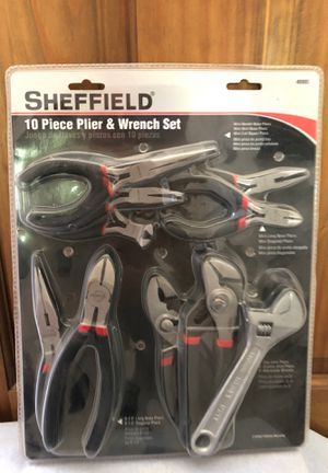 Sheffield 10 Piece Plier & Wrench Set for Sale in San Marcos, CA