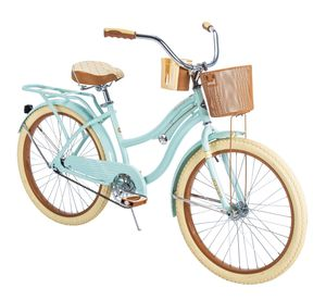 """Huffy 24"""" Womens Nel Lusso Cruiser Bike with Perfect Fit Frame, Blue for Sale in MONTE VISTA, CA"""