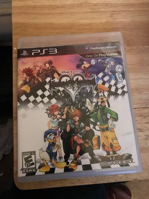 Kingdom hearts Ps3 for Sale in Winston-Salem, NC