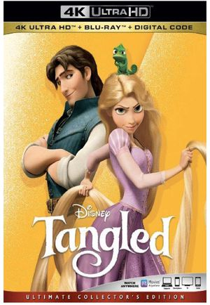 Disney Tangled - Digital Copy Code - MoviesAnywhere 4K Movie for Sale in Jurupa Valley, CA