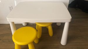 IKEA kids table and chairs for Sale in Chandler, AZ