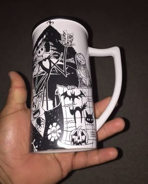 Disney Store Nightmare Before Christmas Coffee Tea Ceramic Mugs Rare for Sale in San Diego, CA