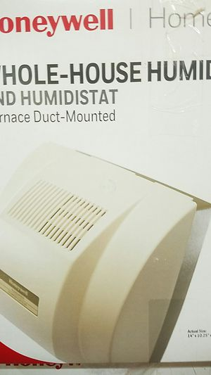 Honeywell whole house humidifier and humidistat for Sale in Moreno Valley, CA
